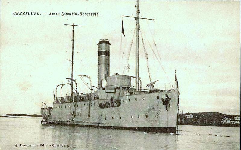 HMS Quentin Roosevelt à la RNSB Quenti10