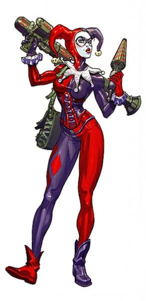 "Harleen Quinzel ""Harley Quinn"" Batman11"