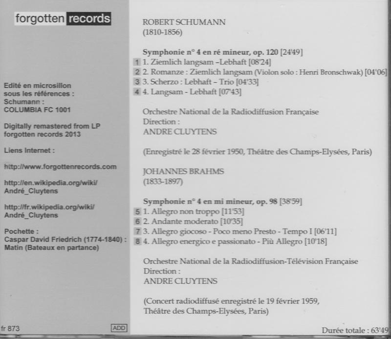 Brahms - 4e symphonie Cluyte11