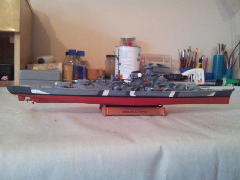 Schlachtschiff BISMARCK 1:700Tamiya 20131125