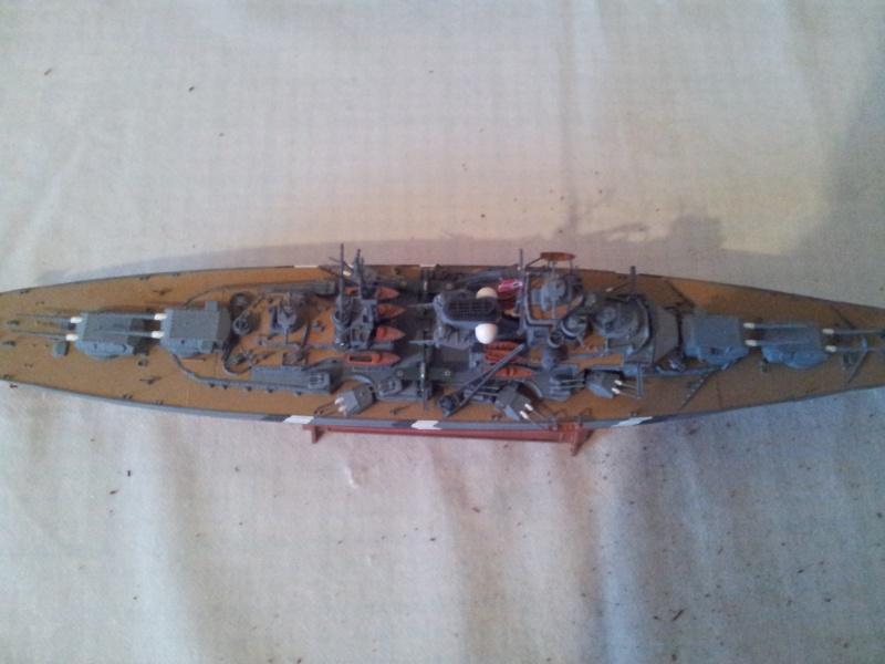 Schlachtschiff BISMARCK 1:700Tamiya 20131127