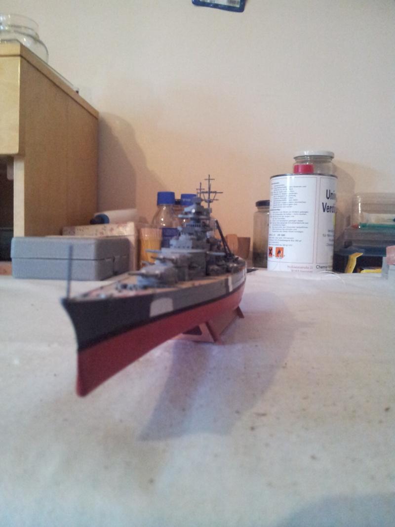 Schlachtschiff BISMARCK 1:700Tamiya 20131128