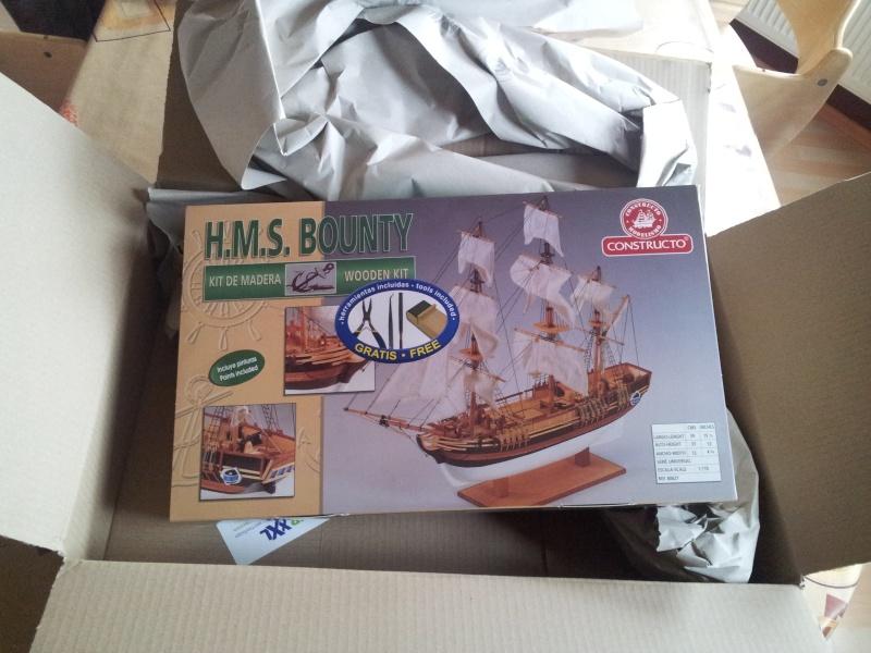 Baubericht HMS Bounty 1:110 von Constructo 20131131