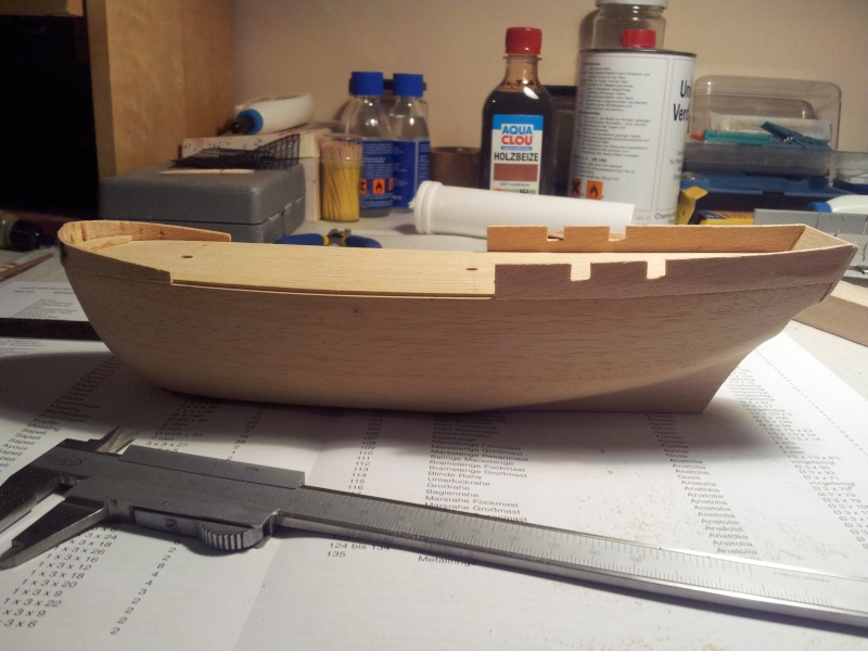 Baubericht HMS Bounty 1:110 von Constructo 20131137