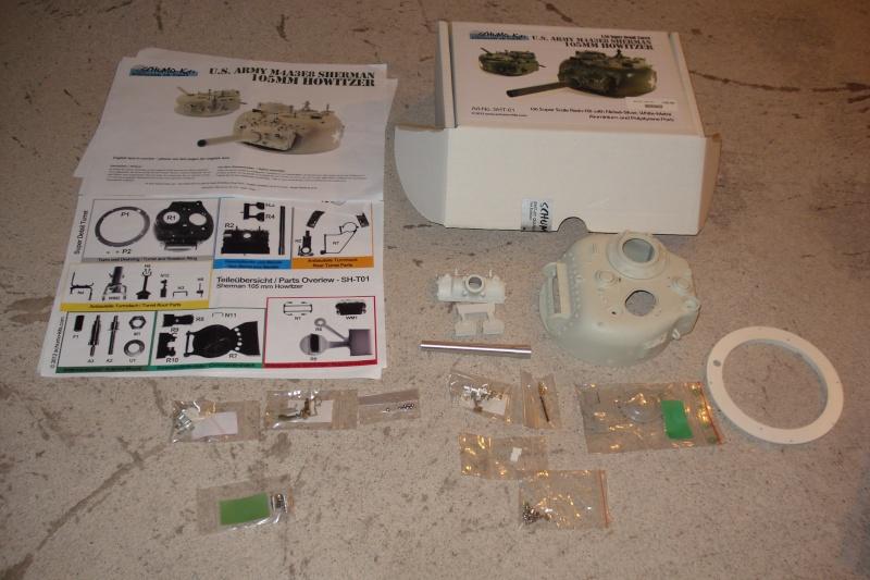 Schumo super detail turret for M4A3E8 Sherman  Winter10
