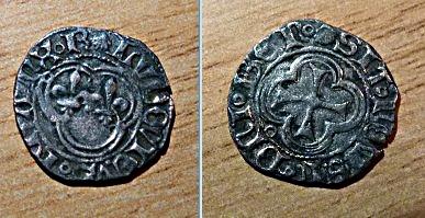 Denier Dijon Louis XI  Louisx10