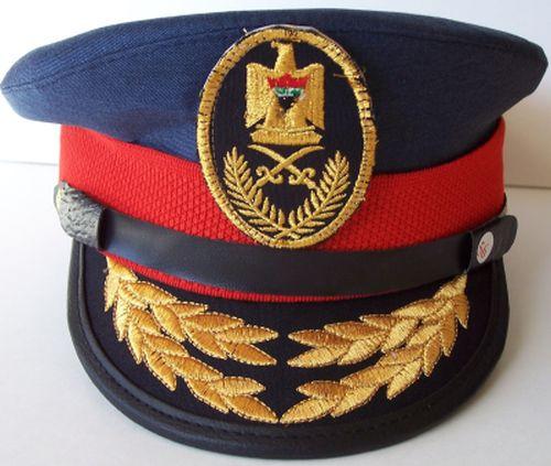 Post 2003,Iraqi Air Force Officer Visor hat Af_vis10