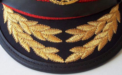 Post 2003,Iraqi Air Force Officer Visor hat Af_vis11
