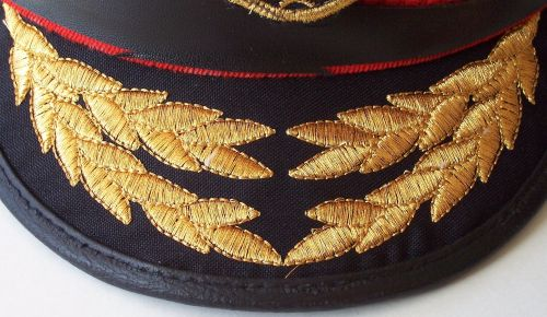Post 2003, Iraqi Navy Officers Visor hat Navy_o11