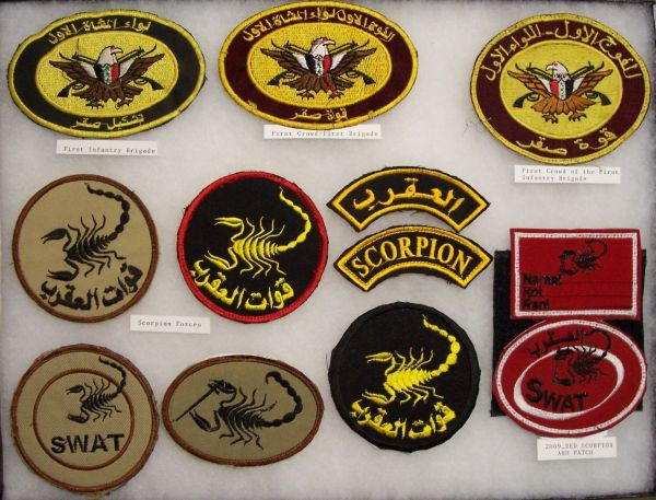 SWAT, Scorpion and Special Forces Patches Scorpi10