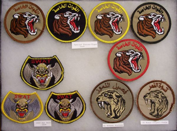 SWAT, Scorpion and Special Forces Patches Sf_tig11