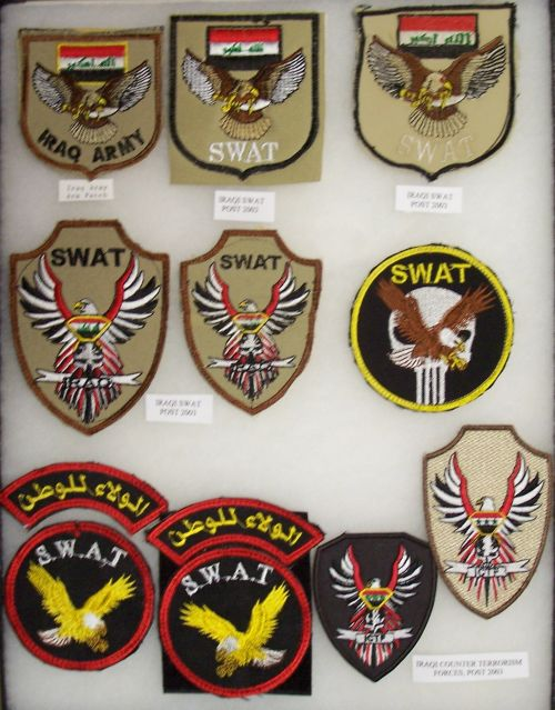 SWAT, Scorpion and Special Forces Patches Swat_d11