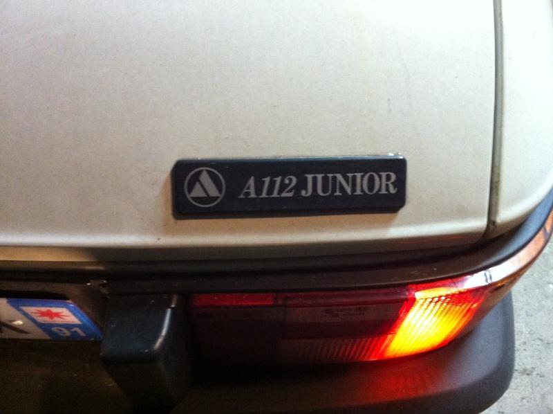 l'Autobianchi A112 Junior d'AmidZeline - Page 2 Img_1117
