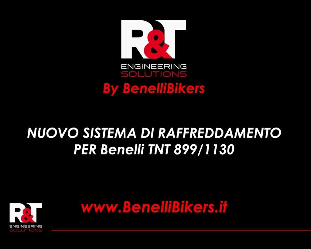1 essai du nouveau système de refroidissement pour Benelli TnT Front10