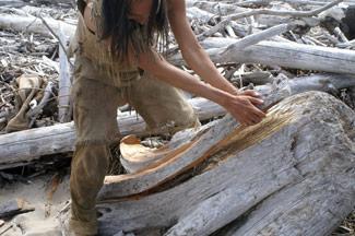 Kayak Inuit Secolo XVII Beamsp10