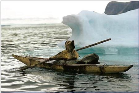 Kayak Inuit Secolo XVII Kayak_10