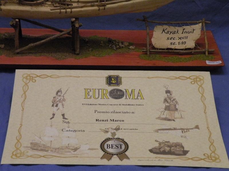 Kayak Inuit Secolo XVII Premio20