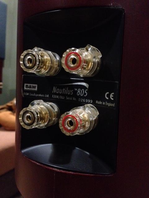 B&W Nautilus 805 Speakers SOLD Image10