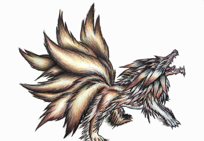 Cero Demon Foxwol11