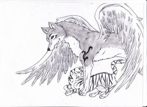 les loups de Miss Dreamofe !!!! ou autre :) Loup_a11
