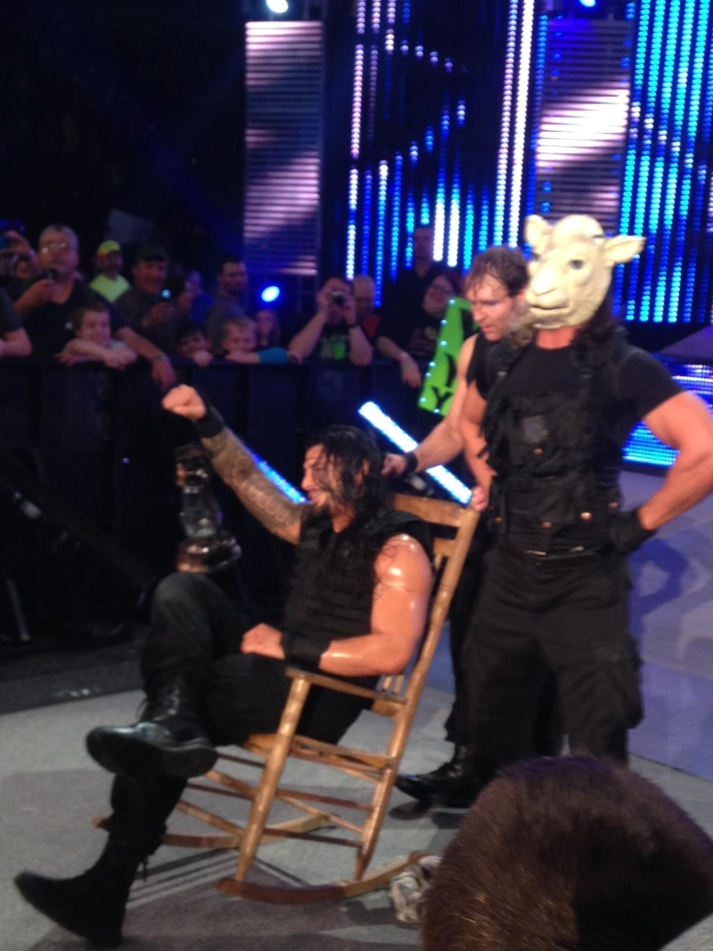Funny Pictures from Shield vs. Wyatt Family Smackdown Dark Match Uw8ohp10