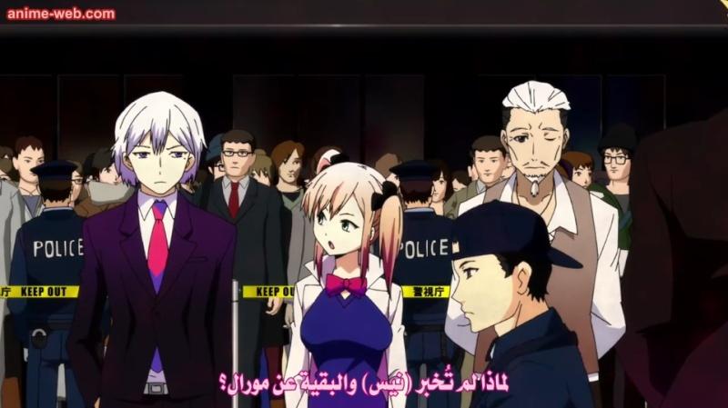 الحقله السادسه من أنمي الجرائم والقوى الخارقه Hamatora The Animation 2 170