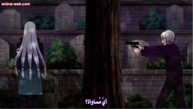 الحقله السابعه من أنمي الجرائم والقوى الخارقه Hamatora The Animation 2 266