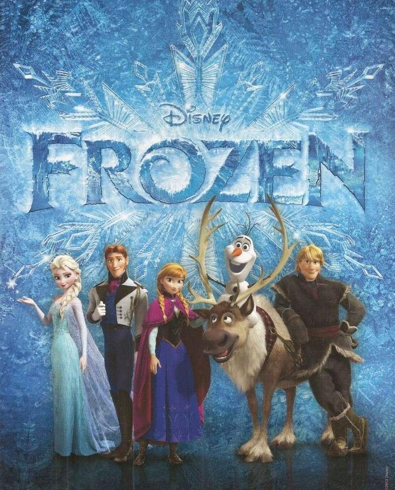 الفيلم الرائع  أول شباك التذاكر frozen  على الخليج Disney10