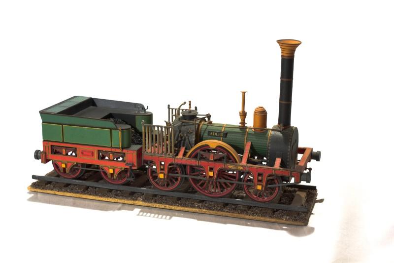 """Der """"Adler"""" - Deutschlands erste Lokomotive / Kartonmodell der Firma Schreiber 02210"""
