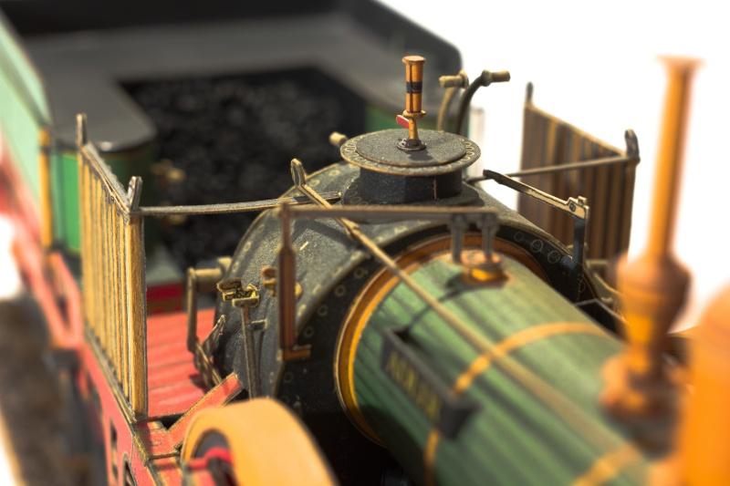"""Der """"Adler"""" - Deutschlands erste Lokomotive / Kartonmodell der Firma Schreiber 02810"""