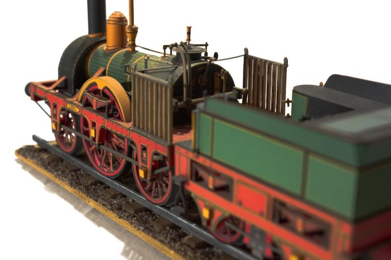 """Der """"Adler"""" - Deutschlands erste Lokomotive / Kartonmodell der Firma Schreiber 03210"""