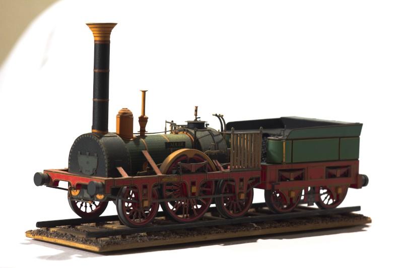 """Der """"Adler"""" - Deutschlands erste Lokomotive / Kartonmodell der Firma Schreiber 04010"""