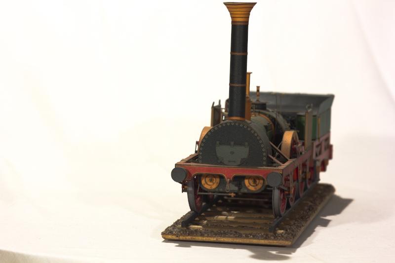 """Der """"Adler"""" - Deutschlands erste Lokomotive / Kartonmodell der Firma Schreiber 04710"""