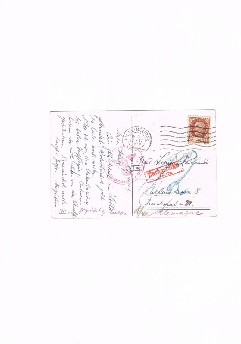 Carte postale  pour l'Allemagne 1943, taxée Ccf04110
