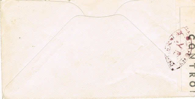 ENVELOPPE POSTE NAVALE RF à CASABLANCA 1944 Ccf06017