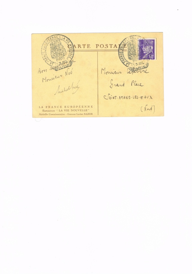 POSTE RURALE EUROPEENNE Ccf08014