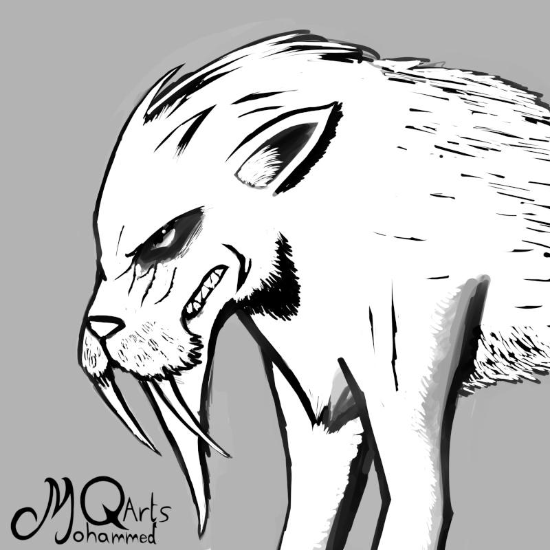 MQarts's not so amazing art Beast_10