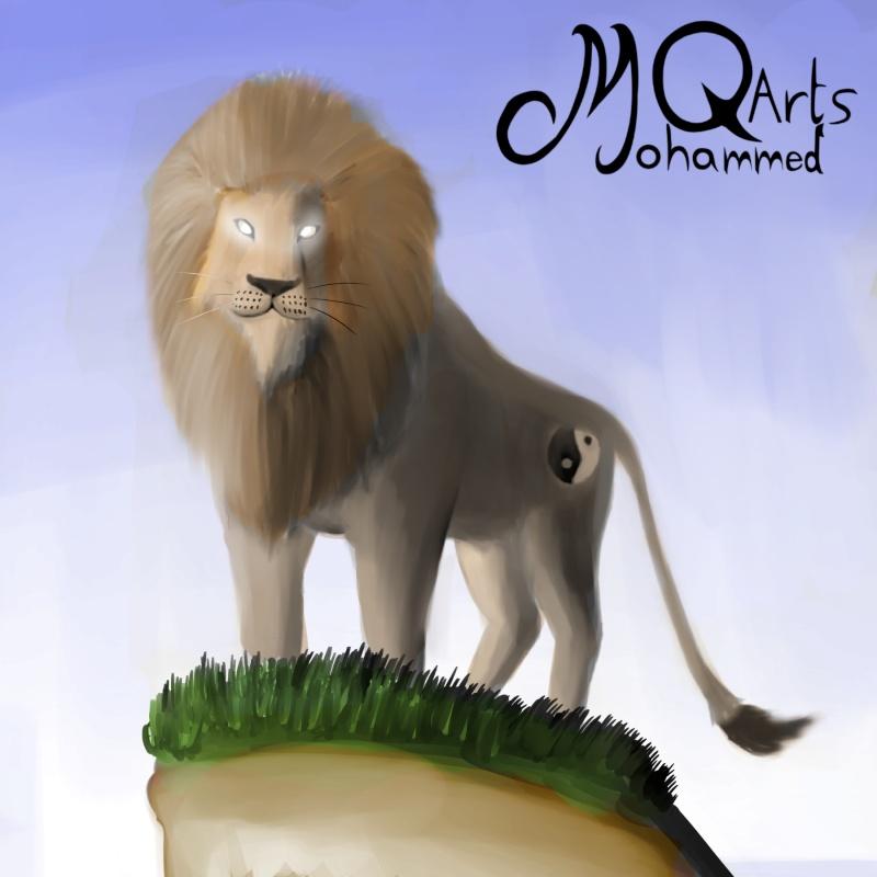 MQarts's not so amazing art Courag10