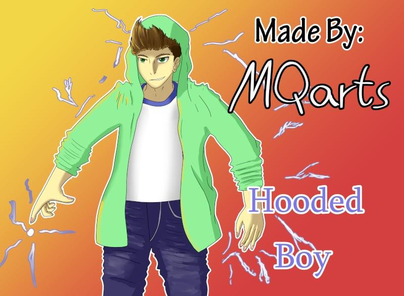 MQarts's not so amazing art Hooded10