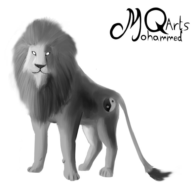 MQarts's not so amazing art Lion_s10