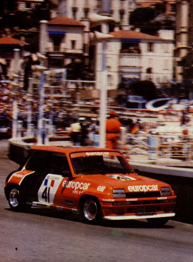 Souvenir Europacup Monaco Numeri10