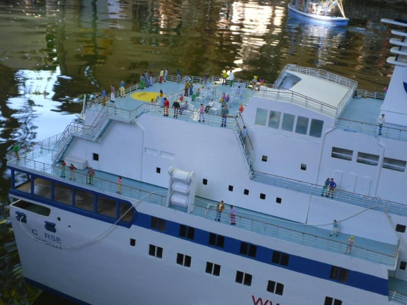 LE CORSE ferry de la SNCM MAQUETTE AU 1/72 Cucuro22