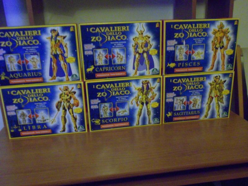 Vendo collezione Cavalieri dello zodiaco Dscn1127