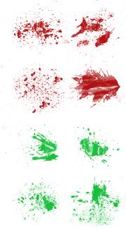 Blood Splatters Progre10