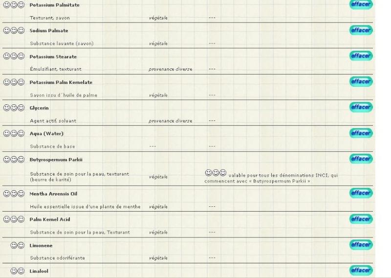 La liste des savons simples et naturels Compos10