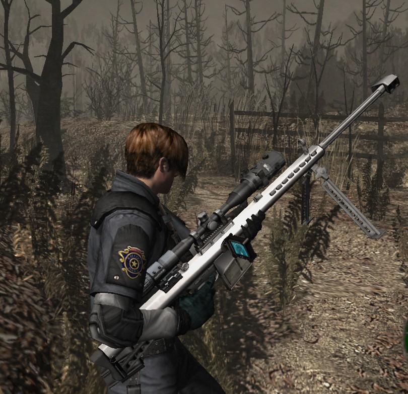 [OFFLINE] Barrett .50 CAL replace Semi-auto Rifle 0311