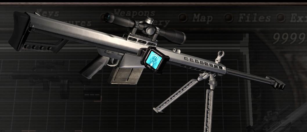 [OFFLINE] Barrett .50 CAL replace Semi-auto Rifle 0811