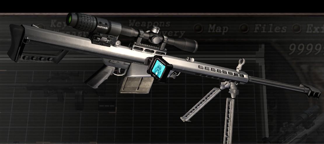 [OFFLINE] Barrett .50 CAL replace Semi-auto Rifle 0911