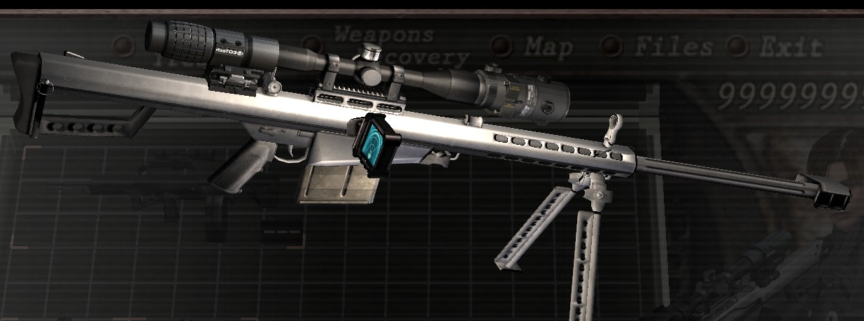 [OFFLINE] Barrett .50 CAL replace Semi-auto Rifle 1011