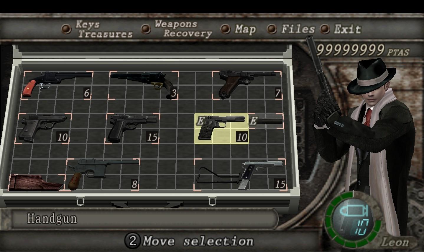 Pack de armas clásicas (Old-style-weapons-pack) Handgu10
